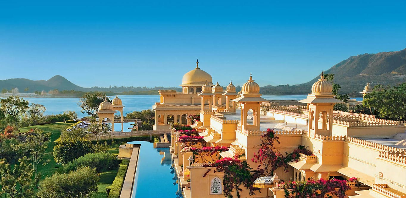 Luxury and boutique hotels and unique accommodation in India